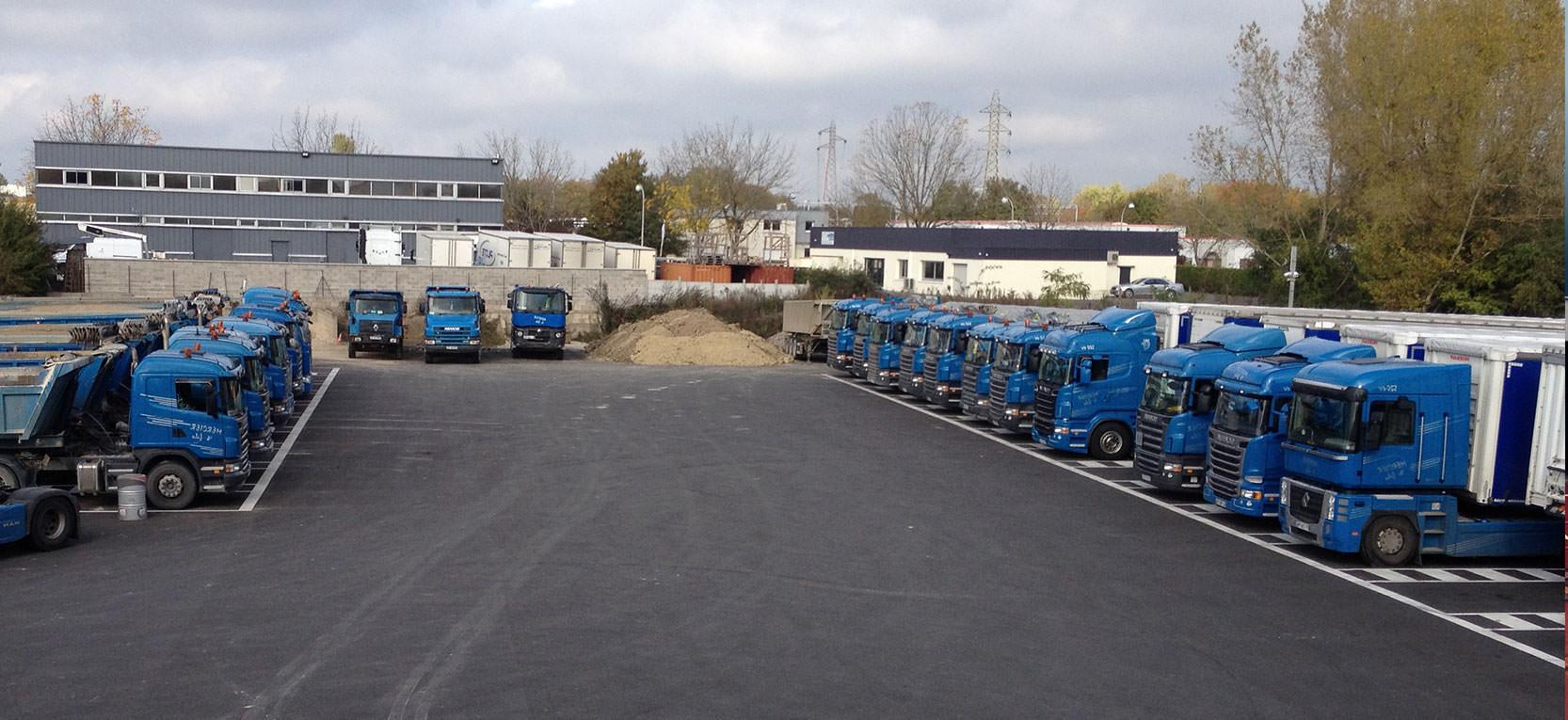 Camions Transports Mercier
